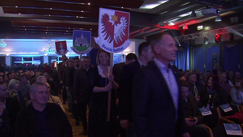 FPÖ Wahlkampfauftakt Pörtschach Strache Darmann Tisal