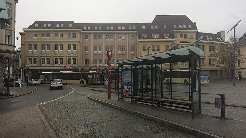 Heiligengeistplatz Klagenfurt Woolworthgebäude