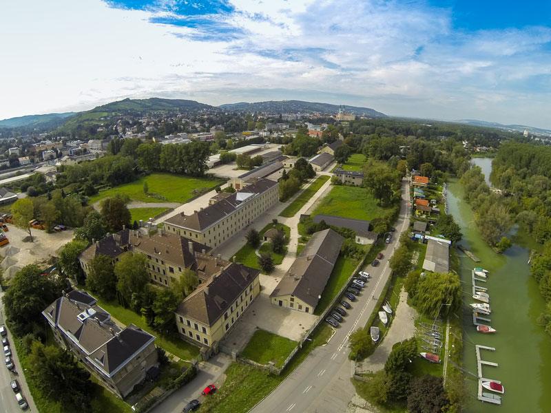 Luftbild Klosterneuburg