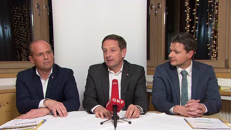 Poglitsch Benger Weidinger ÖVP