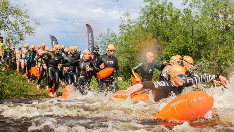 Russen Schwimmen Wörthersee