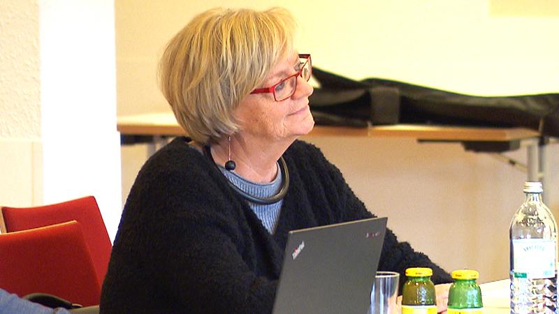 Ingrid Salamon bei der SPÖ-Klubklausur