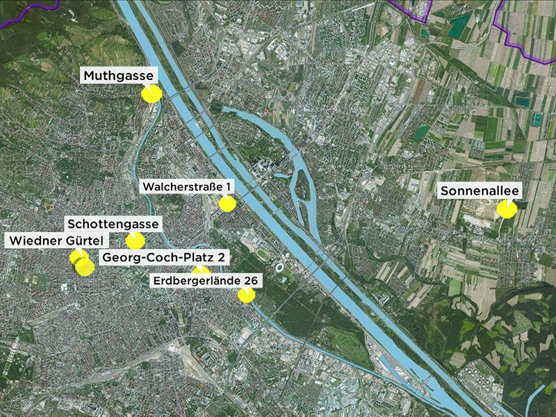 Umweltbundesamt: Stadt Wien bietet  acht bestehende Bürohäuser als neuen Standort