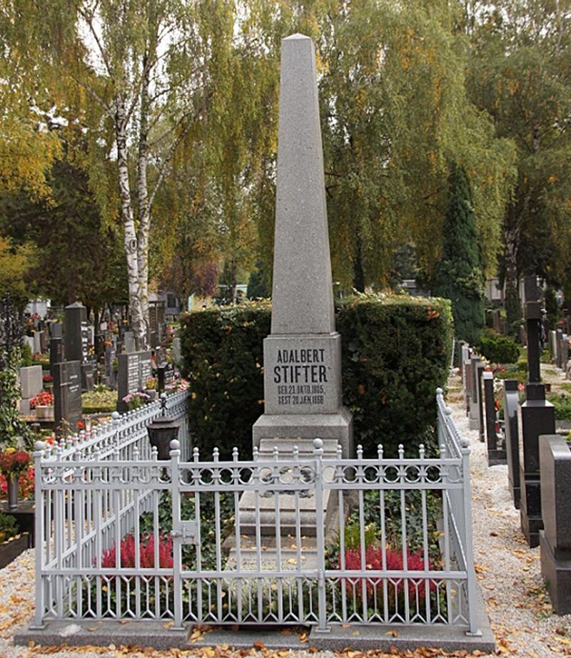 Grabstätte auf dem Barbarafriedhof in Linz
