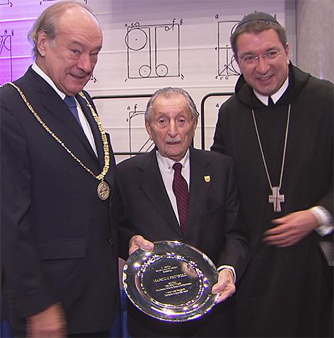 Marco Feingold Preisverleihung der Europäischen Akademie der Wissenschaften