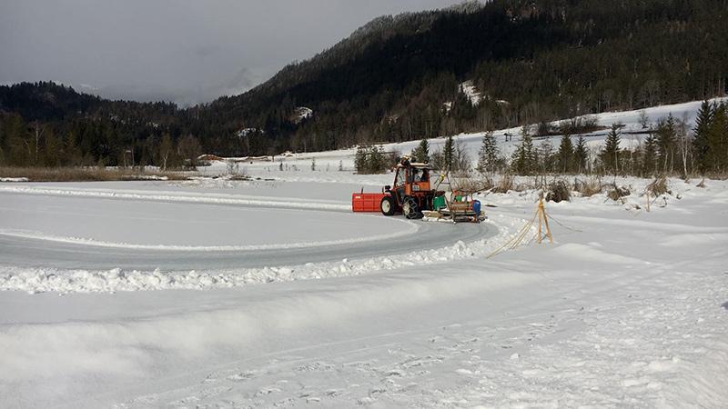 Weißensee Weissensee Elf Städte Eis