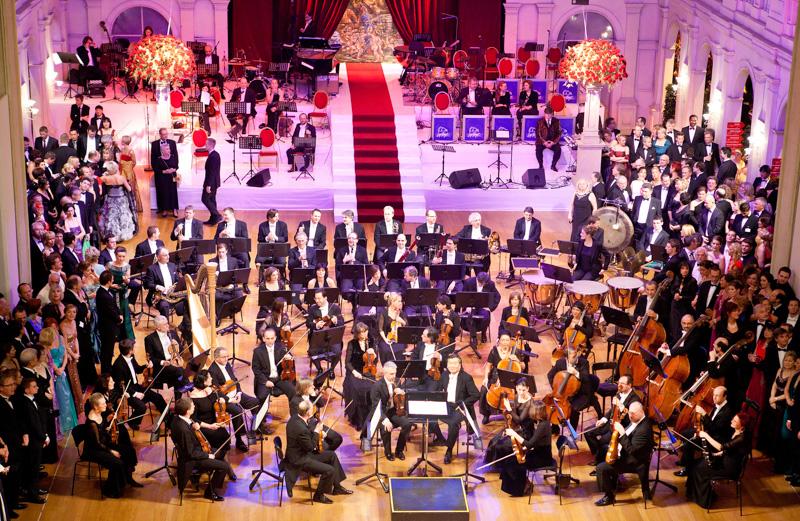 Opernredoute 2012, Philharmonisches Orchester