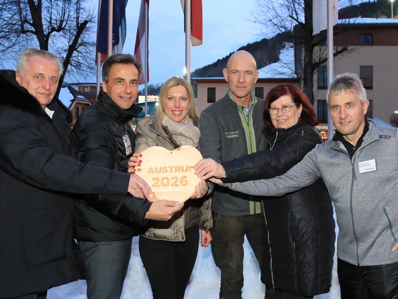 Graz und Schladming wollen Olympia 2026