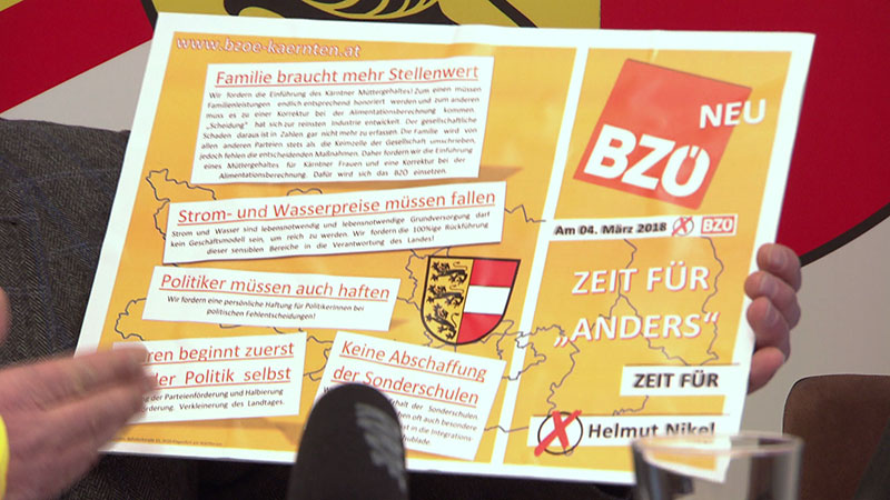 BZÖ Wahlkampf