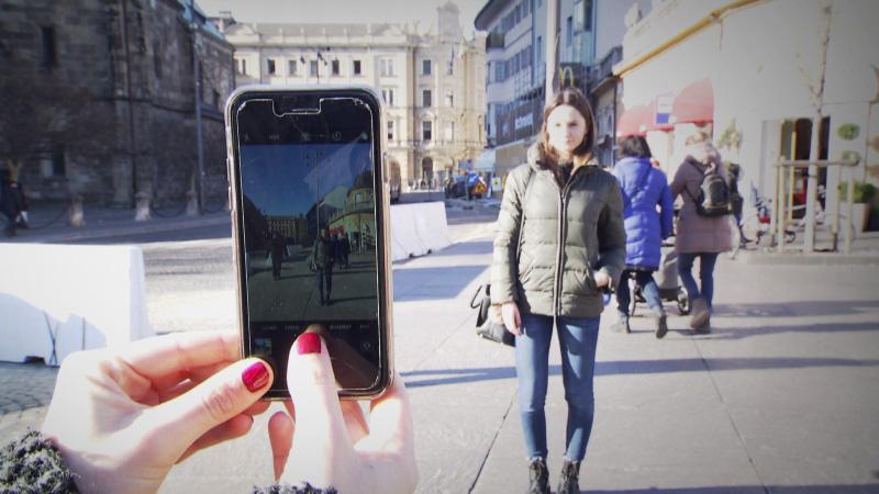 Foto mit Smartphone