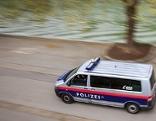 Polizei am Donaukanal