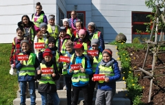 Führung Volksschulklasse im ORF Salzburg