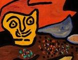 Gaston Chaissac Sans titre Ausstellung museum gugging
