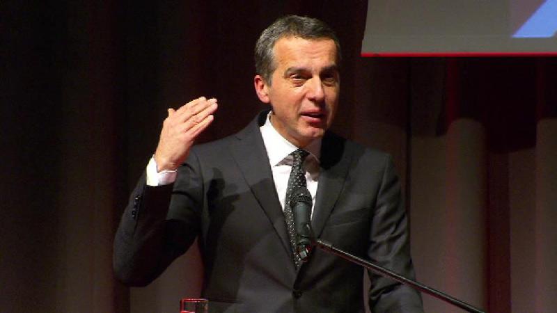 SPÖ Wahlkampfauftakt mit Christian Kern
