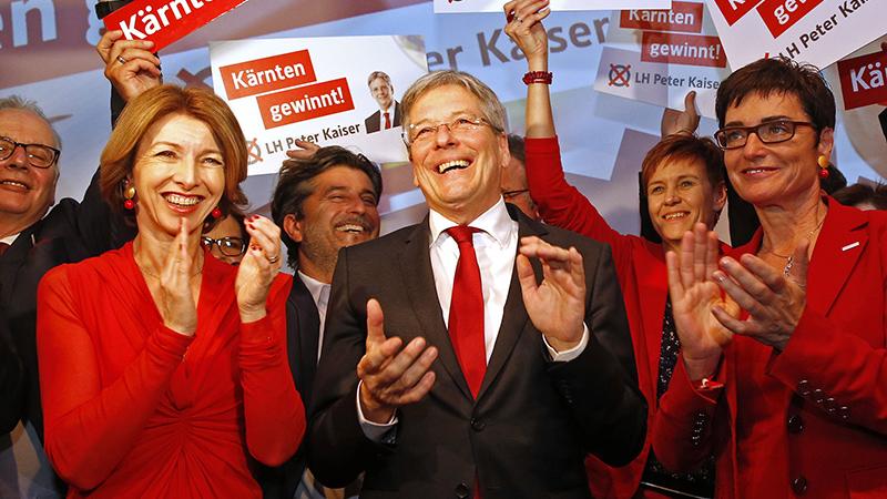 SPÖ Wahlkampfauftakt Villach Kern