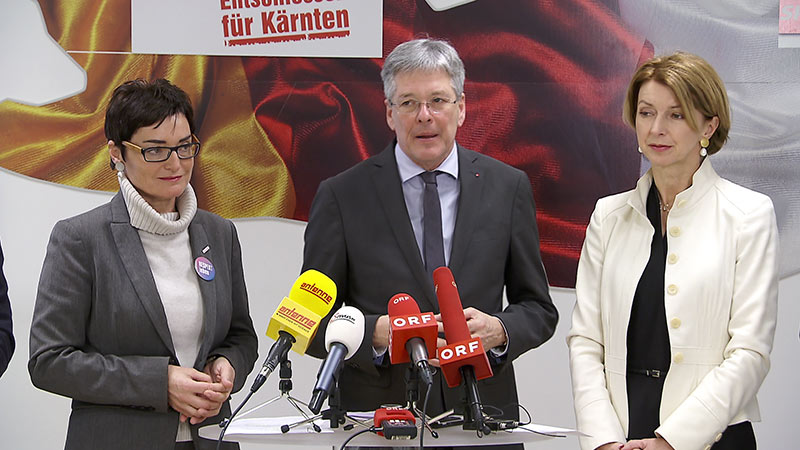 SPÖ Kaiser Prettner Schaunig