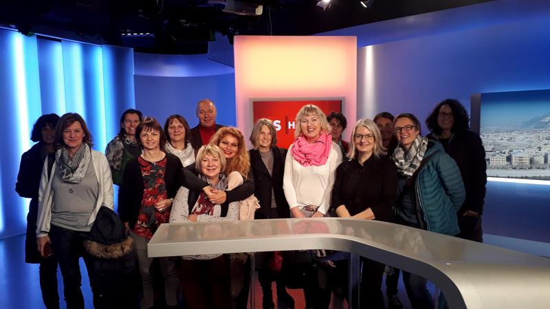 Führung Maturatreffen im ORF Salzburg