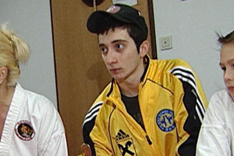 Junadi Sugaipov beim Taekwondo Training