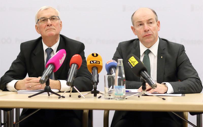 V.l.: Elmar Podgorschek und Max Hiegelsberger
