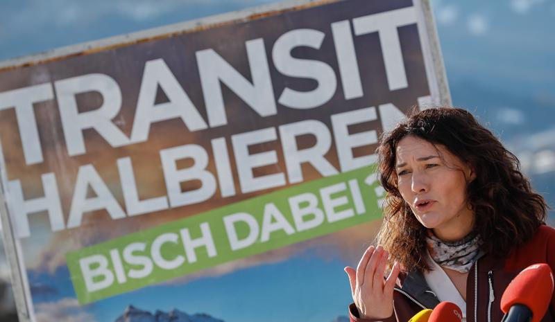 Plakataktion Grüne vor Landtagswahl