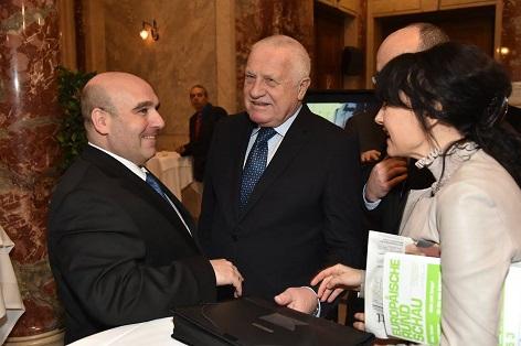 Vienna Congress com.sult 2016 Václav Klaus und David Ungar-Klein.