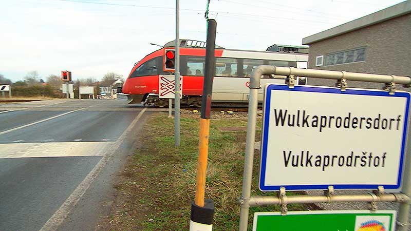 Schwerpunkt Bahnschleife Wulkaprodersdorf Eisenstadt
