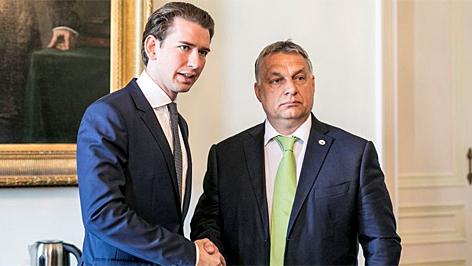 orbán bécsben kurz kancellár