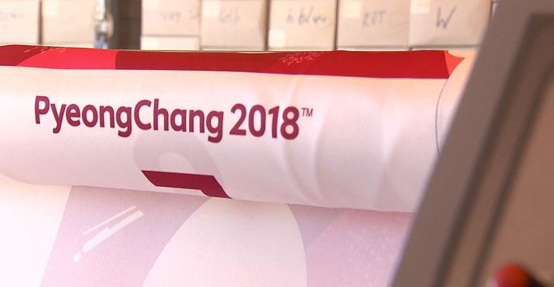 Bundeslandfenster Olympische Spiele Südkorea Startnummern Bellutti Klagenfurt