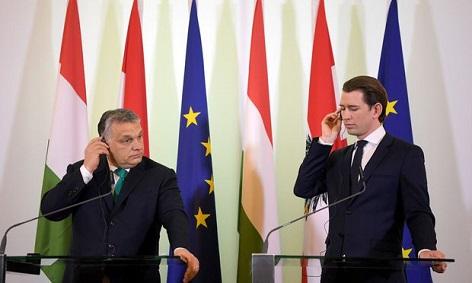 Orbán und Kurz