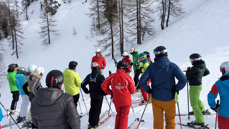Skitag mit Skiguide in Zauchensee