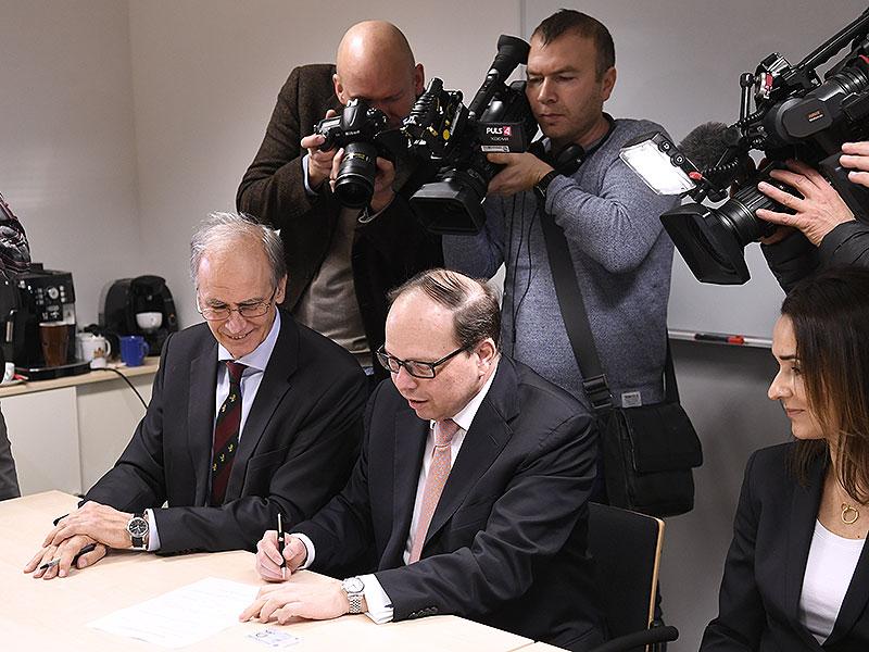 Paul Sevelda, Thomas Szekeres und Daniela Jahn-Kuch