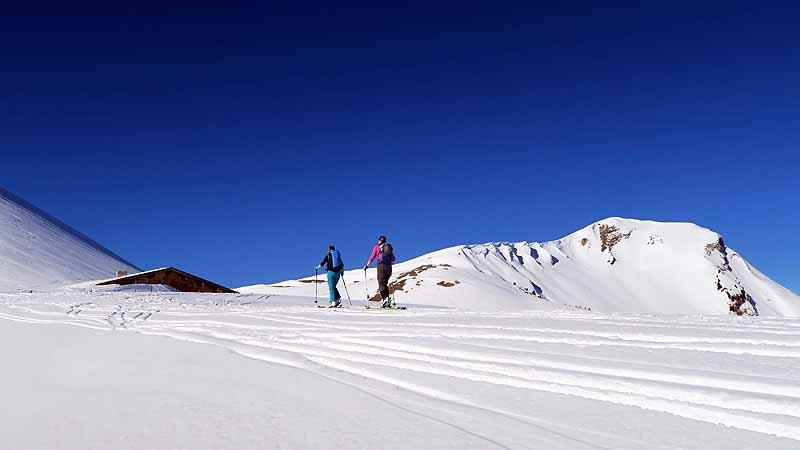 Skitour auf den Juifen