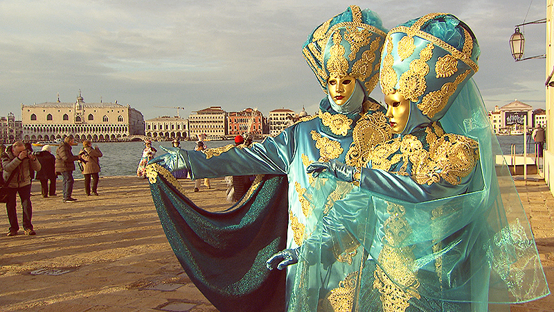 Mattersburger bei Karneval in Venedig