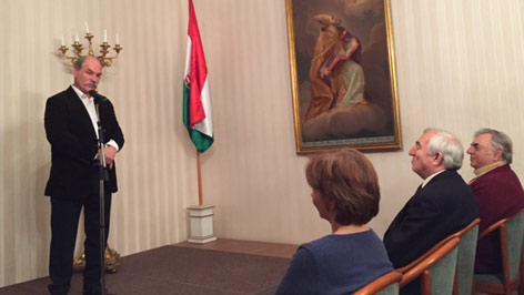 Berecz András Bécsben