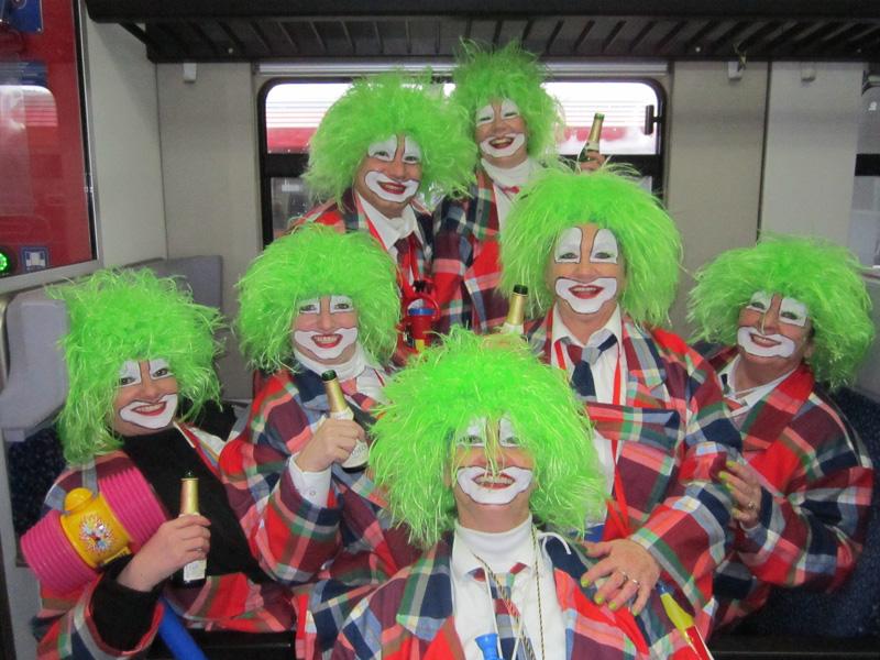Clowns, Fasching