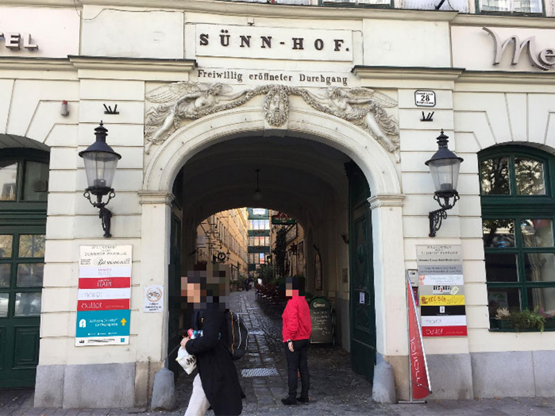 """Abkürzungen für Fußgänger: Wien schildert """"Durchhäuser"""" aus"""