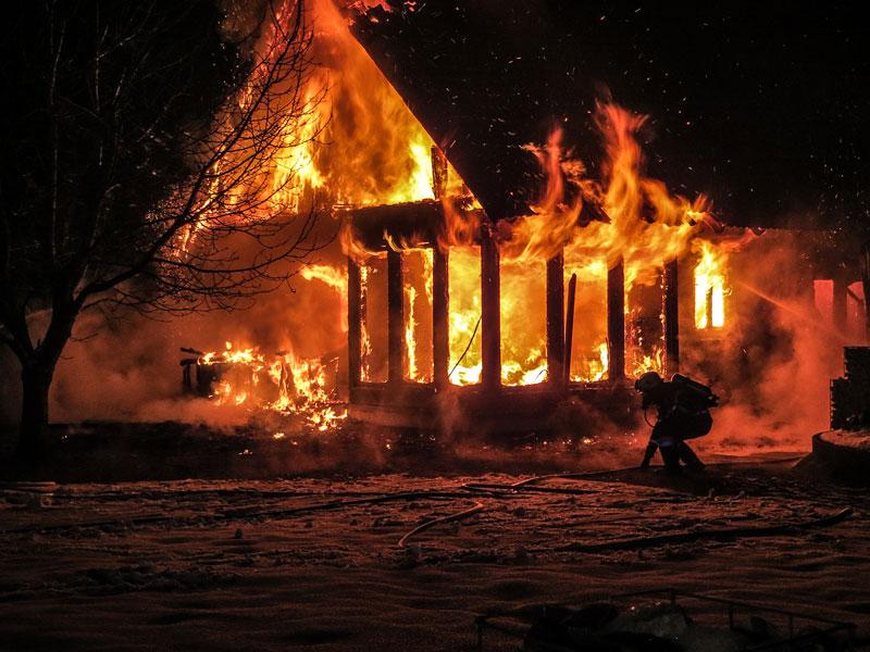 Wohnhausbrand Krumegg