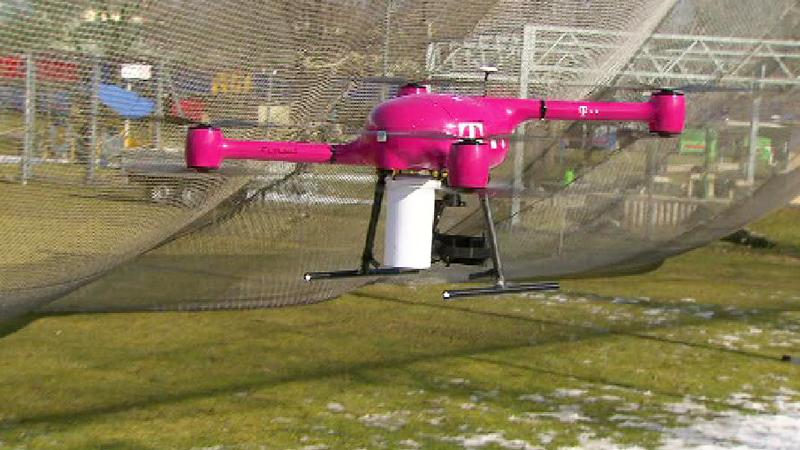 Drohne T-Mobile