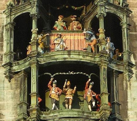 Glockenspiel Münchner Rathaus