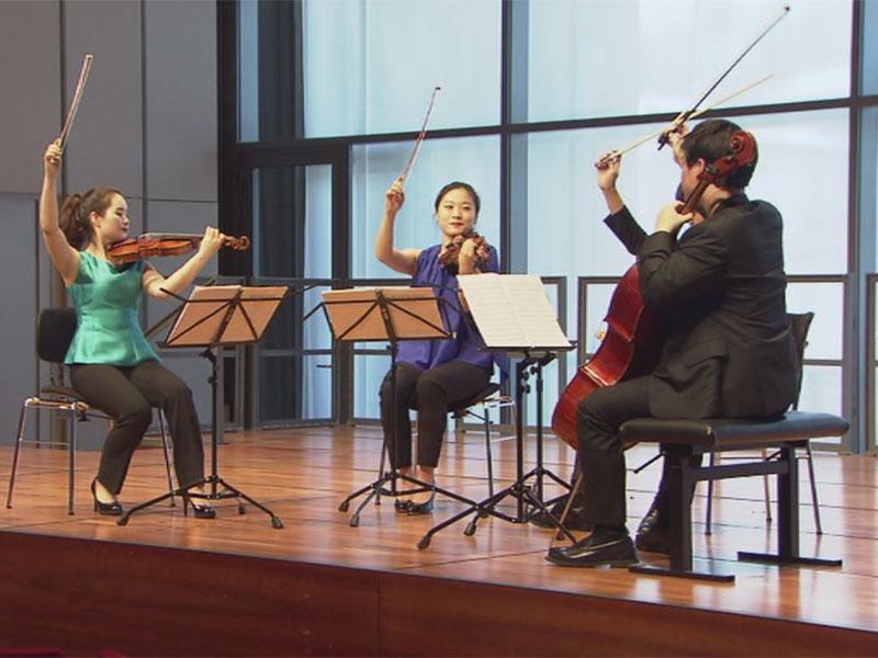 Südkoreanisches Quartett beim Mozartwettbewerb