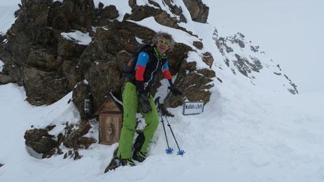 Skitour Wallfahrtsjöchl / Kaunertal