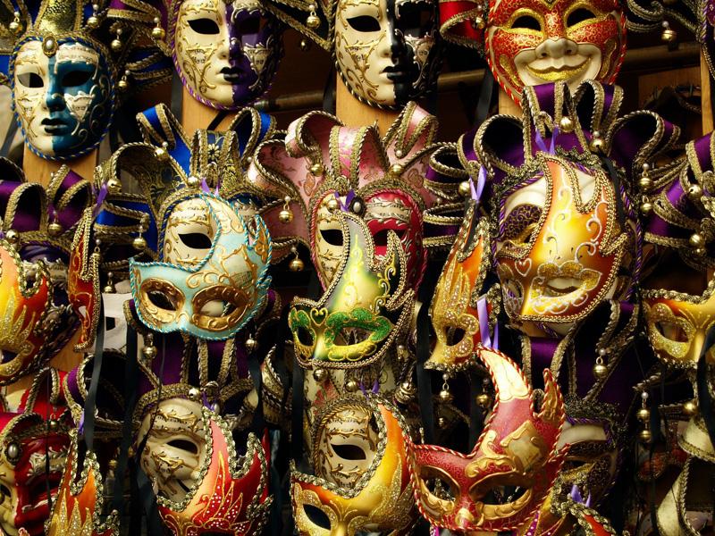 Carnevale di Venezia, Masken