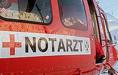 Notarzthubschrauber Rettungshubschrauber Helikopter