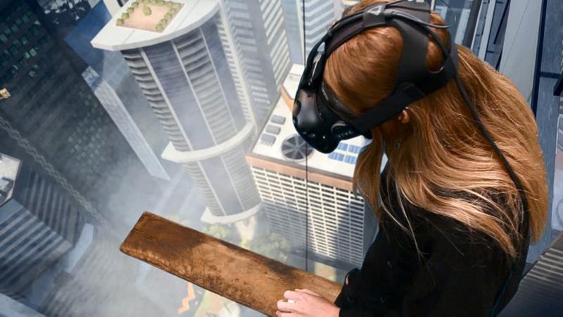 Pressebilder von Phobius, zur Angsttherapie mit VR Brillen