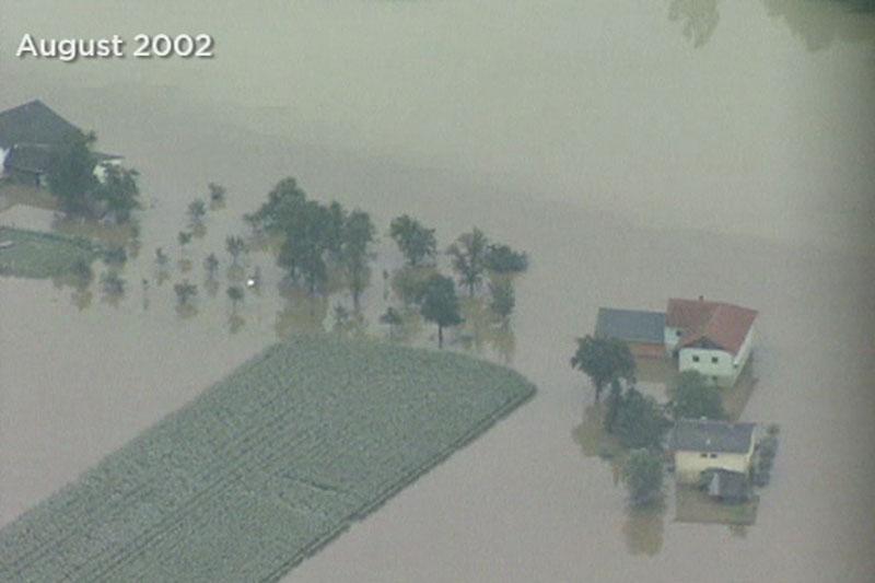 Strengberg Hochwasser 2002
