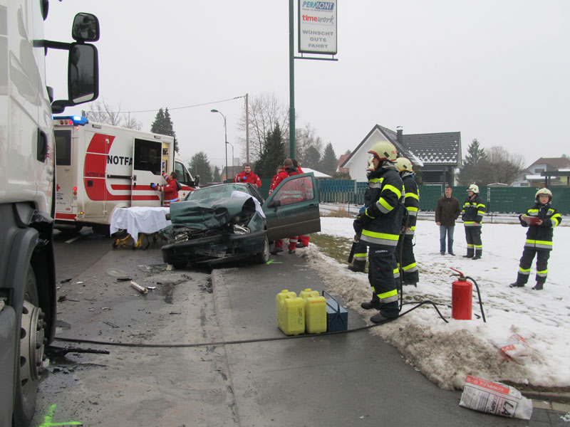 Unfall Gössendorf Dörfla