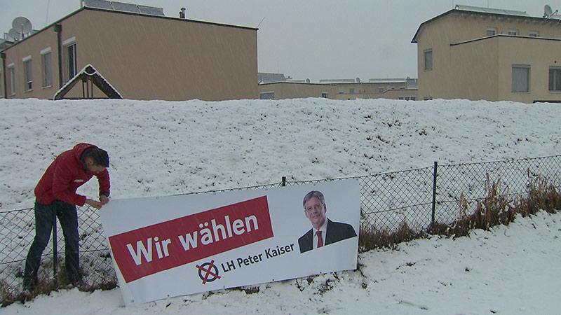 Wahldgeschenke Wahlplakate