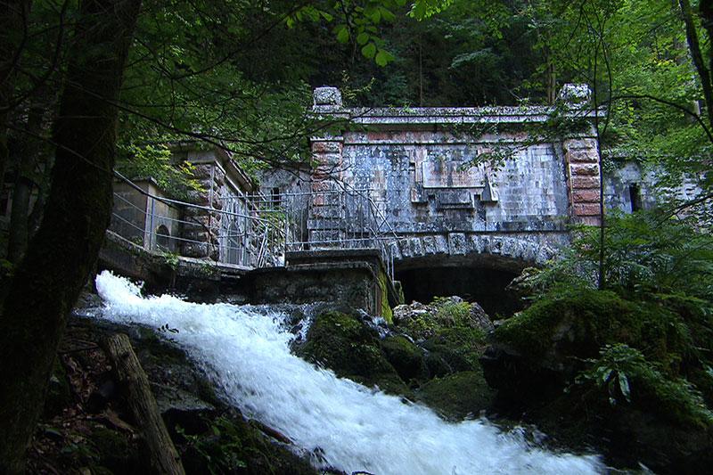 Wasserschloss am Untersberg in Fürstenbrunn - Quelle für das Trinkwasser der Stadt Salzburg