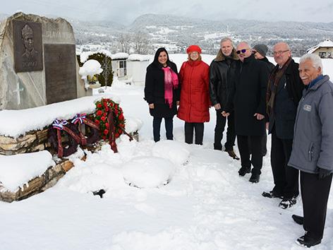 ZKP partizani Sveče spominska Roman Schellander MoPZ Bilka Wutte Mohar