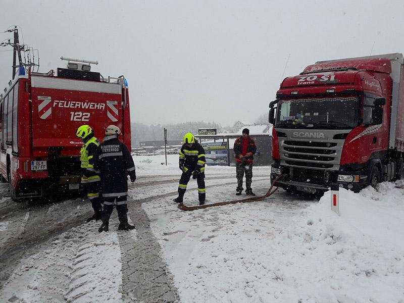 Unfälle in Deutschlandsberg